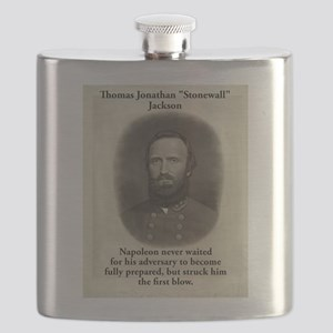 Napoleon Never Waited - Stonewall Jackson Flask