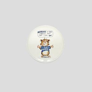 Cartoon Hamster Mini Button
