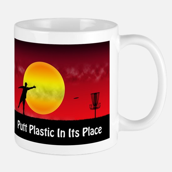 Putt Plastic In Its Place Mug