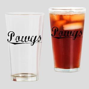 Powys, Aged, Drinking Glass