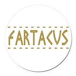 Fartacus Round Car Magnet