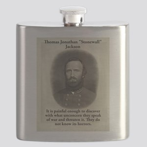 It Is Painful Enough - Stonewall Jackson Flask