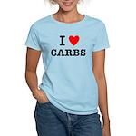 I Love Carbs Funny Diet Women's Light T-Shirt
