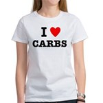 I Love Carbs Funny Diet Women's T-Shirt