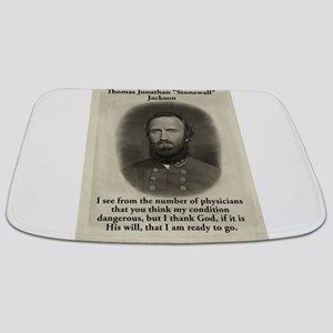 I See From The Number - Stonewall Jackson Bathmat