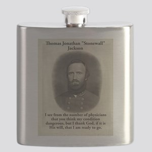 I See From The Number - Stonewall Jackson Flask