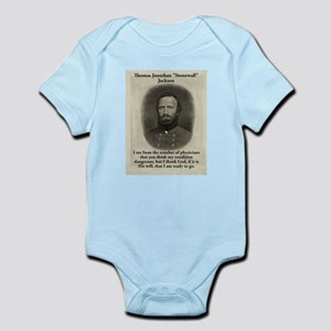 I See From The Number - Stonewall Jackson Infant B