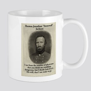 I See From The Number - Stonewall Jackson 11 oz Ce
