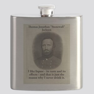 I Like Liquor - Stonewall Jackson Flask