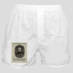 I Like Liquor - Stonewall Jackson Boxer Shorts