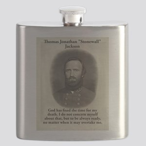 God Has Fixed The Time - Stonewall Jackson Flask