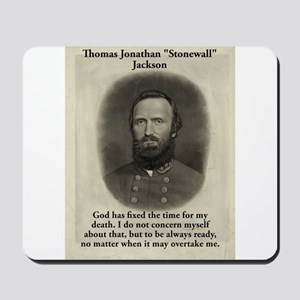 God Has Fixed The Time - Stonewall Jackson Mousepa