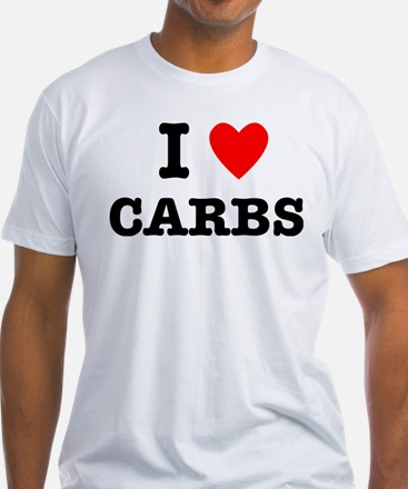 I Love Carbs Funny Diet Shirt