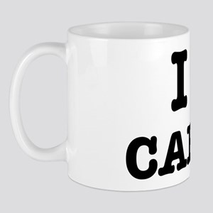 I Love Carbs Funny Diet Mug