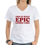 Epic Looks Like Women's V-Neck T-Shirt