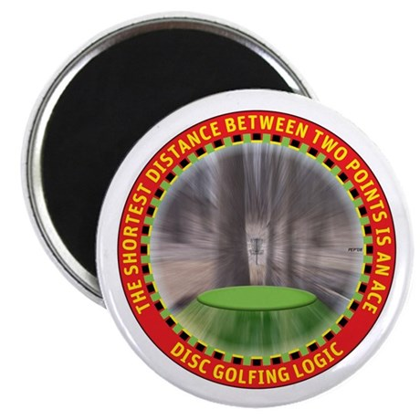 Disc Golf Logic Magnet
