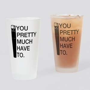 Sm57: You'll pretty much have to. Drinking Glass