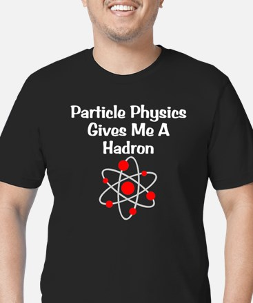 Particle Physics Men's Fitted Dark T-Shirt