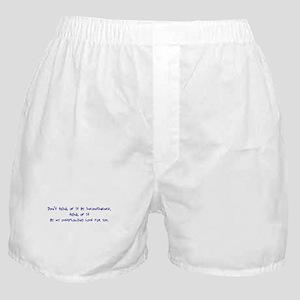 Incontinence Boxer Shorts
