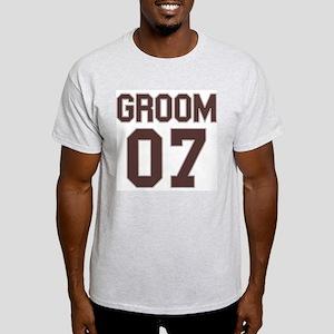 Groom 07 Ash Grey T-Shirt