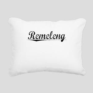 Rëmeleng, Aged, Rectangular Canvas Pillow
