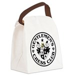 Gentlemen's Chess Club Canvas Lunch Bag