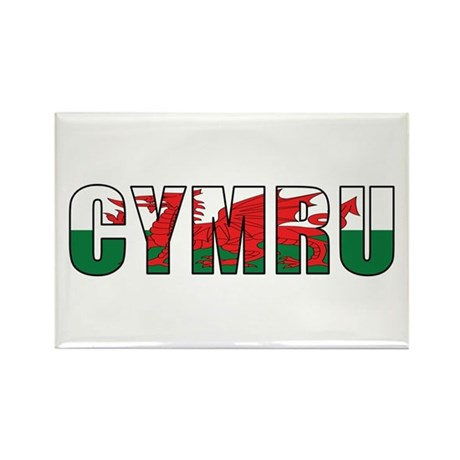 Wales (Welsh) Rectangle Magnet (10 pack)