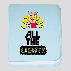 Catching All The Lights baby blanket