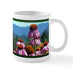 Echinacea Flowers Landscape Mug