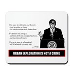 UE IS NOT A CRIME / UE Bush Mousepad