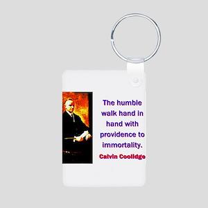 The Humble Walk - Calvin Coolidge Aluminum Photo K