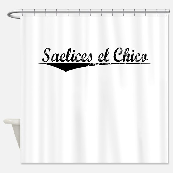 Saelices el Chico, Aged, Shower Curtain