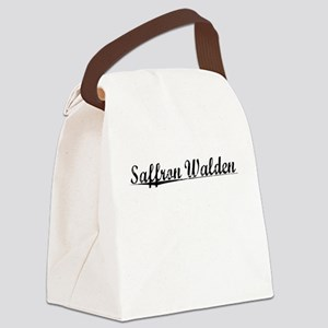 Saffron Walden, Aged, Canvas Lunch Bag