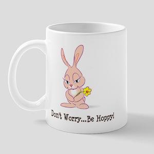 Be Hoppy Bunny Mug
