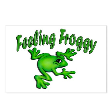 Feeling Froggy Postcards (Package of 8)