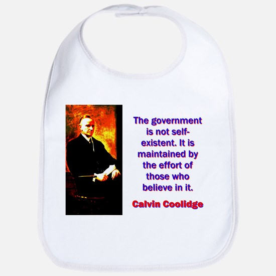 The Government Is Not Self-Existent - Calvin Cooli