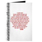 God quotes Journal