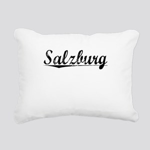 Salzburg, Aged, Rectangular Canvas Pillow