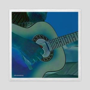 Acoustic Riffs Queen Duvet