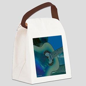 Acoustic Riffs Canvas Lunch Bag