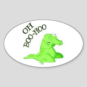 Crocodile Tears Oval Sticker