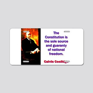 The Constitution Is The Sole Source - Calvin Cooli
