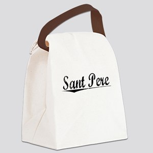 Sant Pere, Aged, Canvas Lunch Bag