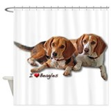 Beagle Shower Curtains