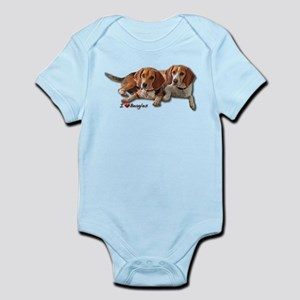 Two Beagles Infant Bodysuit