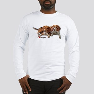 Two Beagles Long Sleeve T-Shirt