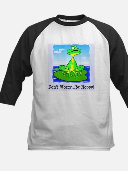 Be Hoppy Frog Kids Baseball Jersey