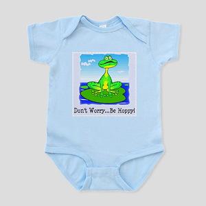 Be Hoppy Frog Infant Creeper