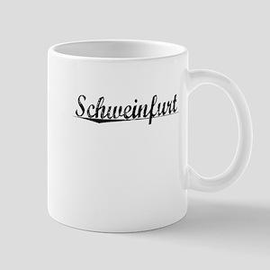 Schweinfurt, Aged, Mug