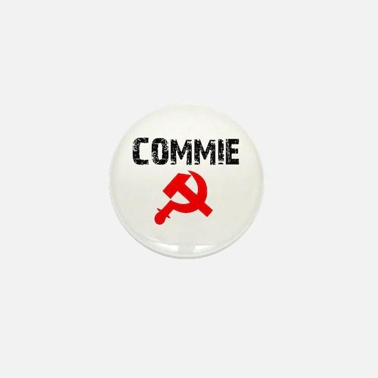 Commie Mini Button